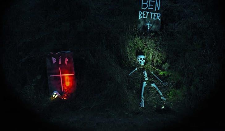 Drive-in halloween