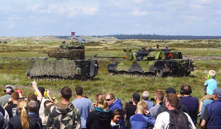 Militærets øvelsesområde