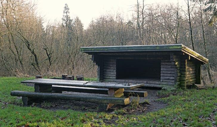 Shelterplads ved Karlsgårde sø