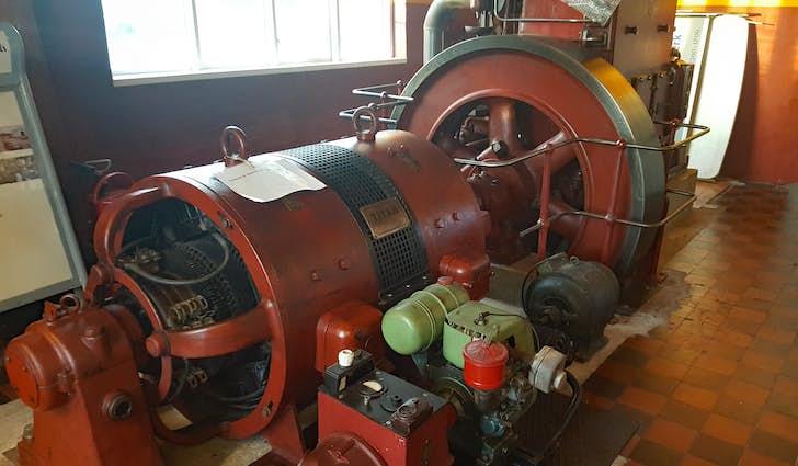 Lyne gamle elværk