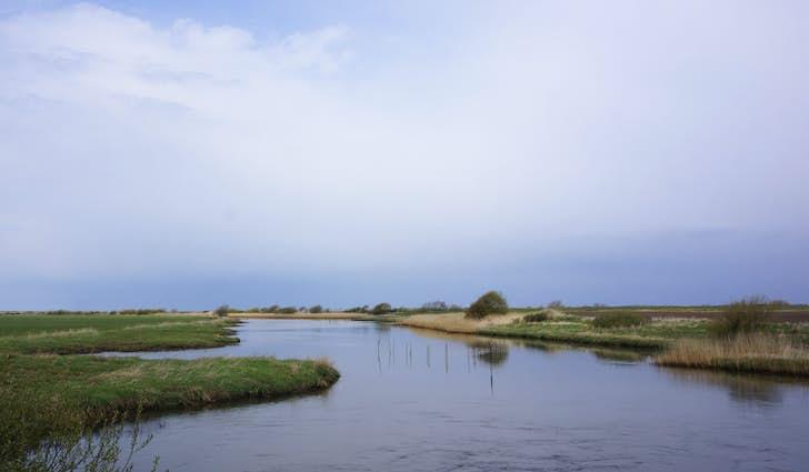Kammerslusen ved Ribe