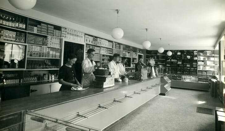 Købmand og brugsforening