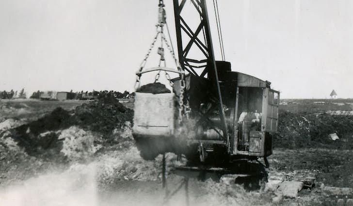 Mergelgravning i Skovlund