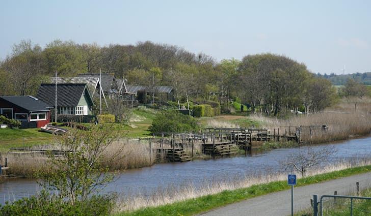 Sneum Sluse og Digesø